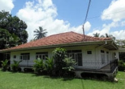 Homestay from outside Turtle Conservation in Sri Lanka