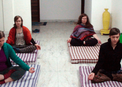 Meditation Women's Empowerment in India
