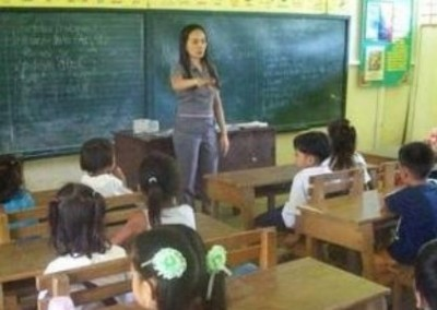 Teaching class Teach English in Rural Schools in the Philippines