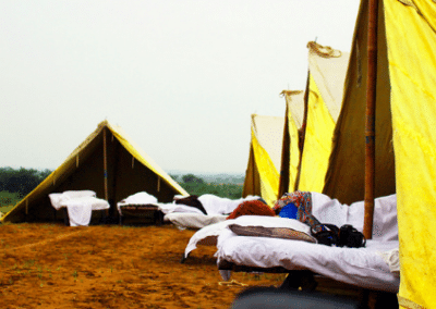 Tents Experience India and Volunteering in India
