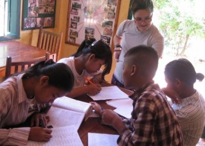 Volunteer and children Classroom and Childcare assistant in Cambodia