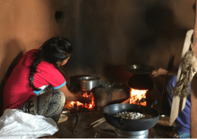 Cooking Family Volunteering Women and Child Empowerment in Nepal